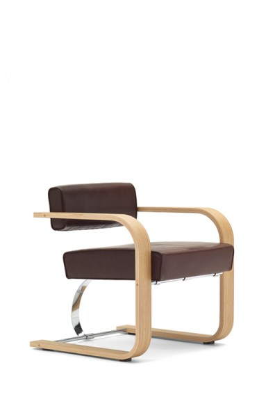 Richard Neutra - Cantilever Chair Wood
